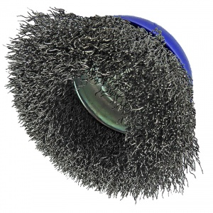 75mm Wire Crimped Cup Brush Display Pack