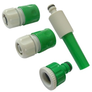 Hose Nozzle and Connector Set