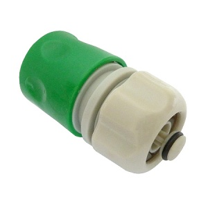 Hose Connector with Water Stop