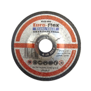 125mm x 3.2mm x 22.23mm DPC Metal Cutting Disc