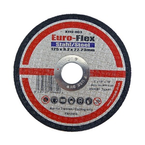 125mm x 3.2mm x 22.23mm Metal Cutting Disc