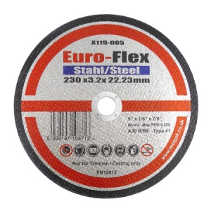 230mm x 3.2mm x 22.23mm Metal Cutting Disc