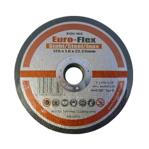 125mm x 1.6mm x 22.23mm Metal Thin Slitting Disc