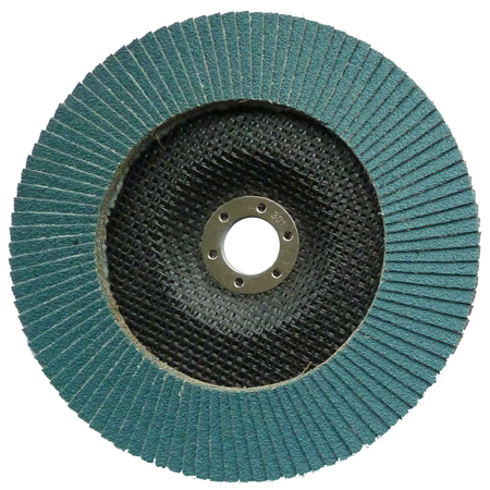 180mm Zirconium Flap Disc 40 Grit