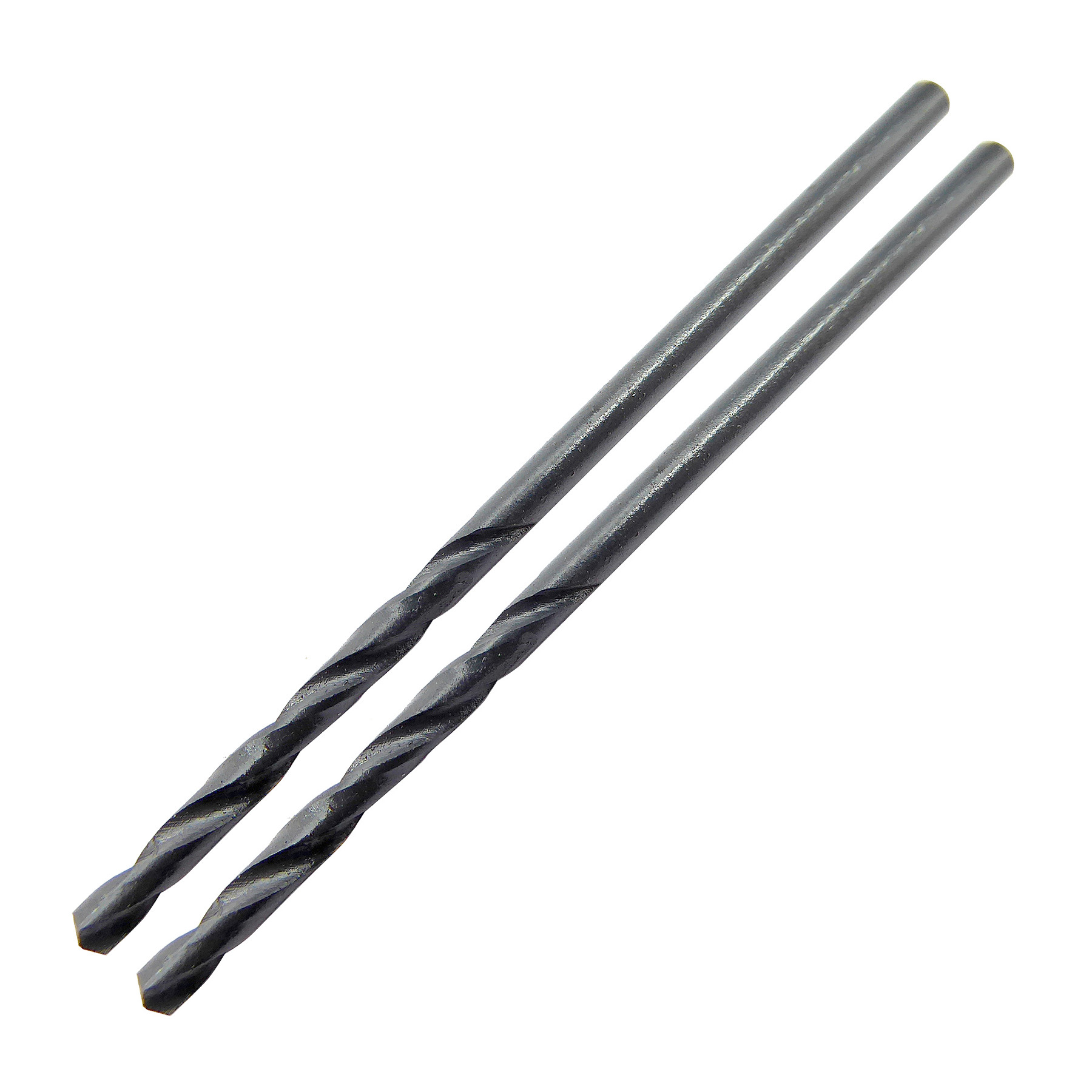 2.0mm x 49mm HSS Roll Forged Jobber Drill Pack of 2