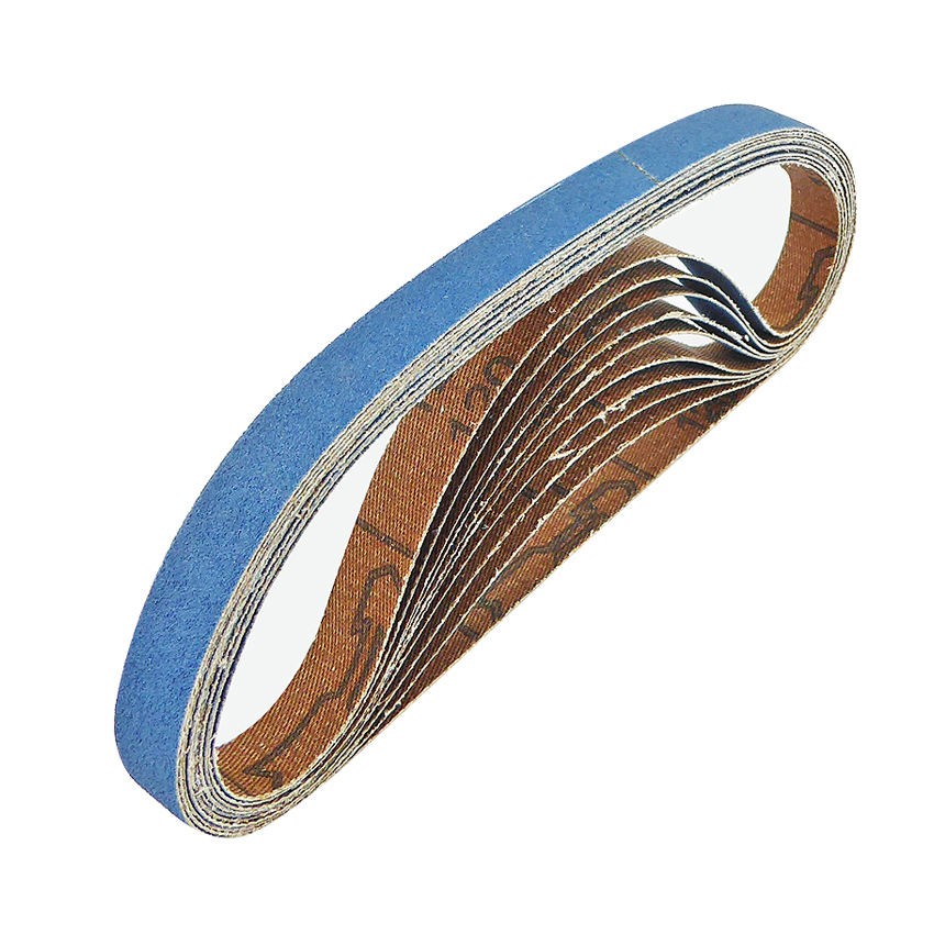 NEW Cloth Sanding Belts 13 x 457mm 80 Grit Pack of 10