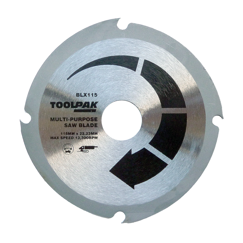 115mm x 22.23mm x 4T Angle Grinder Saw Disc